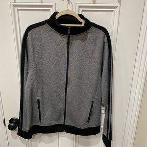 Men's Charcoal Track Jacket
